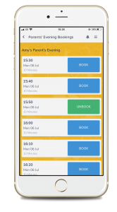 Parents Evening Booking App
